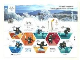 2018 - Corea Del Sud - Giochi Invernali Paraolimpici Di Pechino - Inverno 2022 : Pechino