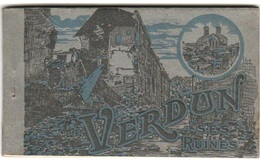CPM - 1918 - VERDUN SES RUINES - CARNET De 20 CARTES Postal - Voir Scan - Brrrrrrrr - War 1914-18
