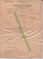 Uittreksel Militaire Dossier, Wehrmacht - Documents Historiques