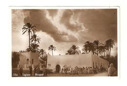 CT--02892-- LIBIA-TAGIURA-MERCATO-MOLTO ANIMATA-DATA SUL RETRO  TRIPOLI  18-11-39 - Libia