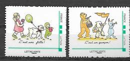 France 2019 - C'est Une Fille - C'est Un Garçon ** - Adhesive Stamps