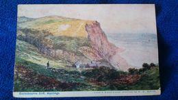 Ecclesbourne Cliff Hastings England - Inghilterra