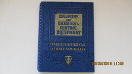CHLORINE AND CHEMICAL CONTROL EQUIPMENT / 1945 / WALLACE & TIERNAN / NEWARK NEW JERSEY - Autres Appareils