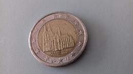 PIECE DE 2 EURO COMMEMORATIVE ALLEMAGNE 2011 J - NORDRHEIN - Allemagne