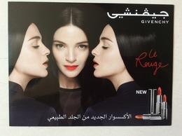 Grande Carte Double Maquillage Émirats - Cartas Perfumadas