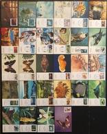 Nouvelle Caledonie Cartes Maximum - Lot De 28 Cartes Maximum - Thématique Divers - Cartes-maximum