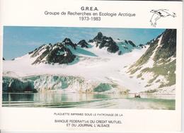 Groupe De Recherches En ECOLOGIE ARCTIQUE, EXPEDITION 1973-1983 (Spitzberg,Terre De Baffin, Groënland) - Faune Arctique