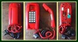 Téléphone Vintage Agréé Peut S'accrocher Au Mur (TB - Fonctionne !) 22X11cm 0,685Kg - Telephony