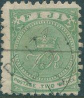 Fiji 1885 SG45a Small Tear Top Left FU - Fidji (1970-...)