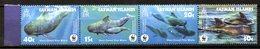 CAÏMANES. N°957-60 De 2003. WWF Baleine. - Baleines
