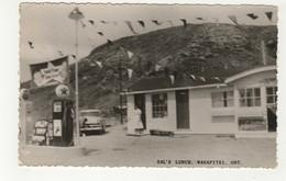 WANAPITEI, Ontario, Canada, Sals' Lunch & Texaco Gas, 1950's  RPPC, Sudbury County - Ontario