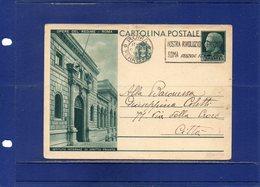 ##(DAN195)-1931-Cartolina Postale  Opere Del Regime Cent.15 Istituto Inter. Dirirro Privato  Cat. Filagrano C71/12 Usata - Interi Postali