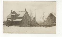 "NAIRN CENTRE, Ontario, Canada, Large ""Decker"" House, 1915  RPPC, Sudbury County - Ontario"