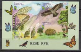 Tajikistan Tadschikistan MNH** 2018 RCC Nature Reserve   Mi 820-23 Zd B - Tadschikistan