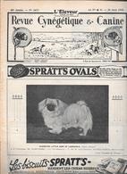 L'ELEVEUR - REVUE CYNEGETIQUE E CANINE - N. 2472 25 JUIN 1933 - 1900 - 1949