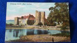 Stokesay Castle Near Ludlow England - Shropshire