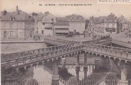LE MANS - Dépt 72 - Pont En X Et Quartier Du Pré - Le Mans