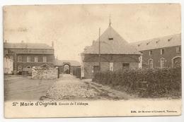 SAINTE MARIE D'OIGNIES  Entrée De L'Abbaye. Edit. De Roover Et Léonard, Tamines. - Aiseau-Presles