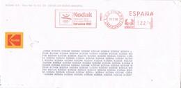 32319. Carta LAS ROZAS (Madrid) 1990. Franqueo Mecanico KODAK, Juegos Olimpicos - 1931-Hoy: 2ª República - ... Juan Carlos I