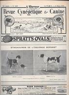 L'ELEVEUR - REVUE CYNEGETIQUE E CANINE - N. 2457 12 MARS 1933 - Libri, Riviste, Fumetti
