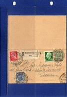 ##(DAN195)-1930-Biglietto Postale Cent.5 Mill.16 Cat.Filagrano B10, Raccomandato Da S.Costantino Calabro Per Catanzaro - Interi Postali