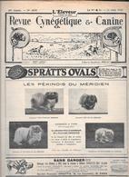 L'ELEVEUR - REVUE CYNEGETIQUE E CANINE - N. 2470 11 JUIN 1933 - Libri, Riviste, Fumetti