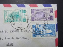 Marcophilie  Cachet Lettre Obliteration - LIBAN Beyrouth à Destination FRANCE - (2333) - Liban