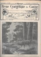 L'ELEVEUR - REVUE CYNEGETIQUE E CANINE - N. 2555 27 JANVIER 1935 - Libri, Riviste, Fumetti