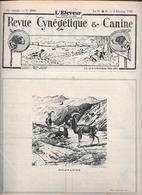 L'ELEVEUR - REVUE CYNEGETIQUE E CANINE - N. 2556 3 FEVRIER 1935 - Libri, Riviste, Fumetti
