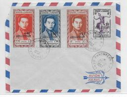 "CAMBODGE - 1952 - ENVELOPPE FDC De PHNOMPENH ""AIDE à L'ETUDIANT"" - Cambodge"