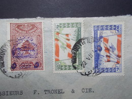 Marcophilie  Cachet Lettre Obliteration - LIBAN Beyrouth à Destination FRANCE - (2334) - Lebanon