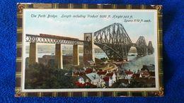 The Forth Bridge Length Including Viaduct Scotland - Scozia