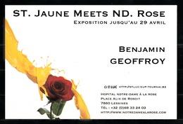 Exposition St. Jaune MEETS Notre-Dame à La Rose De Lessines. - Expositions