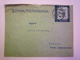 GP 2019 - 927  Enveloppe De 1899 Avec PORTE-TIMBRE  Et Timbre Perforé  XXX - 1850-1918 Empire