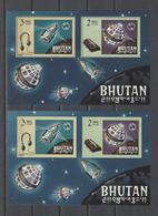 BURUNDI  YT   Bloc Dentelé Et ND    Neuf **  1966 - Bhoutan