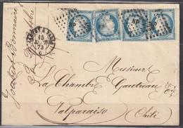LSC 4xn60 Ambulant Nantes-Paris (NP) De Nantes à Valparaiso (Chili) 15/09/73 - 1871-1875 Cérès