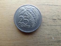 Trinite & Tobago  25  Cents  1993  Km 32 - Trinidad & Tobago