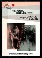 """Exposition """"Au-delà De La Grande Guerre"""" à Bruxelles En 2019. - Expositions"""