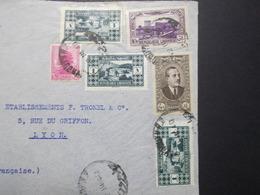 Marcophilie  Cachet Lettre Obliteration - LIBAN Beyrouth à Destination FRANCE - (2338) - Lebanon