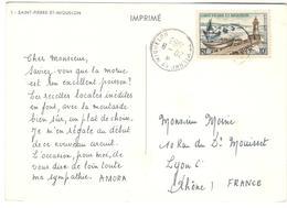 16127 - Publicitaire  Pour AMORA - St.Pierre & Miquelon