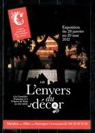 """Exposition à La Comédie Française Et à L'Opéra De Paris """"L'envers Du Décor""""  En 2012. - Expositions"""