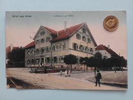 Gruß Aus Arlen Bei Rielasingen, Gasthaus Zum Rössle, Feldpost, 1915 - Sin Clasificación