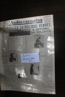 LE VENDEE 14 AVRIL 1946 - Vecchi Documenti