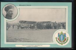 Monoplan Bleriot   -- Circuit Europeen , Juin - Juillet 1911 -  Le Depart De Garros - Aviateurs