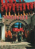 Marokko - Marrakech - Marrakesch - Le Souk Aux Teinturiers - 1994 - Marrakech