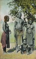 Owambos Von Der Nordgrenze Deutsch Sud West Afrika  Edit Spenker . Nude Man And Women Hand Colored - Namibia