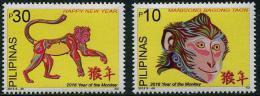 Philippines - Pilipinas (2015) - Set -  /  Monkey - Chinese New Year - Chinees Nieuwjaar