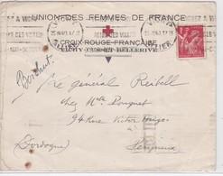 LSC  - VICHY / 25.VIII.40 - Marcophilie (Lettres)