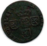 Pays Bas Espagnol  - Liard De 1712  -  état  TB+ - [ 1] …-1795 : Vereinigte Provinzen