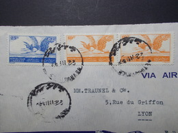 Marcophilie  Cachet Lettre Obliteration - LIBAN Beyrouth à Destination FRANCE - (2343) - Liban
